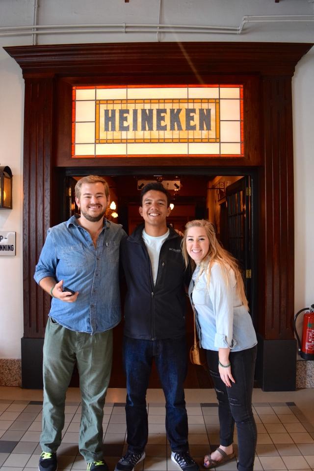 The Heineken Experience // Eric's 23rd Birthday - Amsterdam, The Netherlands.