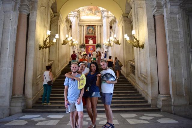 Palacio Real de Madrid (Royal Palace of Madrid) - Madrid, Spain.