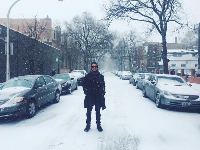 snowy valentine's